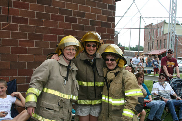 Three Local Firefighters